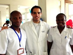 UCSF resident with African nurses