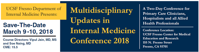 Multidisciplinary Updates in Internal Medicine Conference 2018