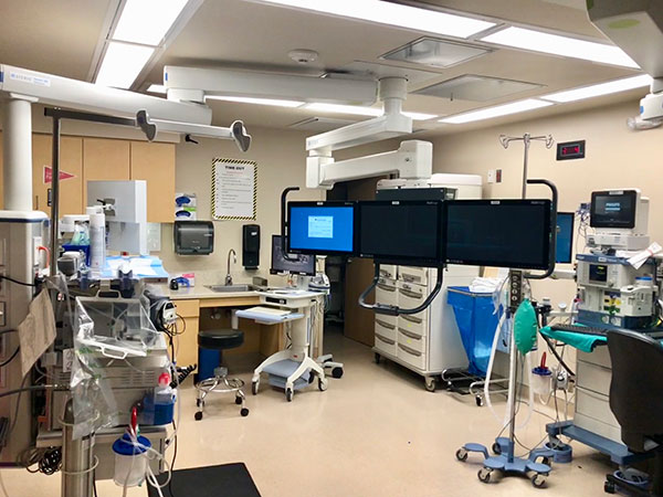 Pulmonary lab at CRMC