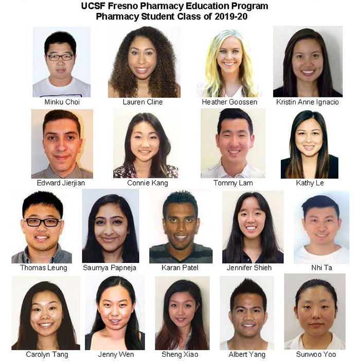 pharmacy class of 2019-20