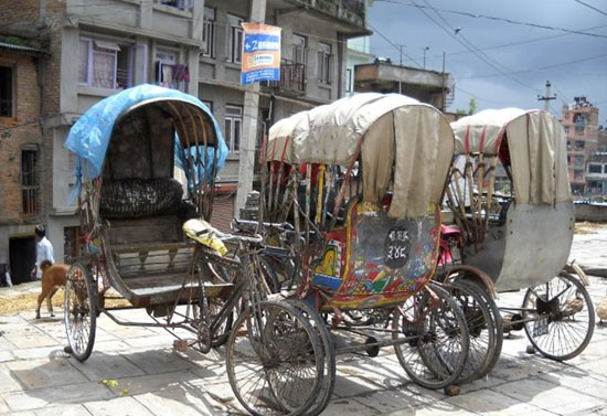 various pedicabs