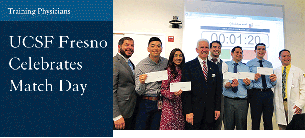 UCSF Fresno Celebrates Match Day