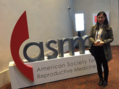Resident at ASRM conference