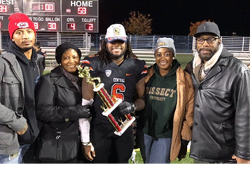 Kasan Jones and family