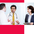 Dr. Chaudhury and Dr. Abdulhaq consulting