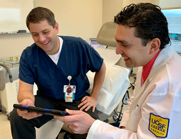 Luis Dehesa, MD, and Gregory Simpson, MD