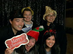 Holiday Party Photobooth picture